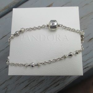 "Pandora Capture 5 Clip Station Bracelet 7.5"""